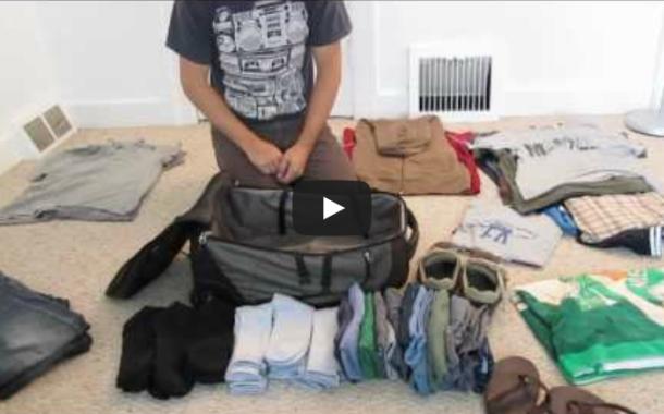 Como arrumar a mala – Modo Profissional