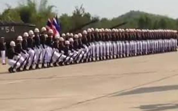 A Parada Militar mais criativa do mundo