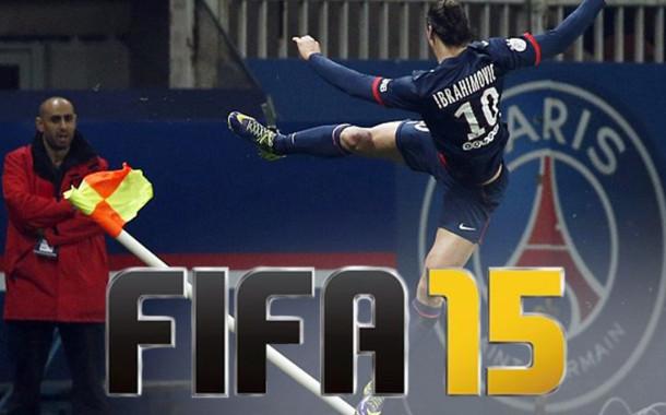Novas comemorações para o FIFA 15