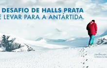Halls promove expedição para a Antártida